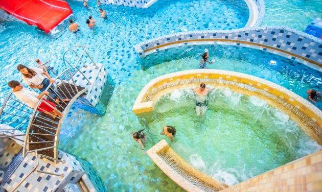 Átadták a Harkányi Gyógyfürdő új élményközpontját