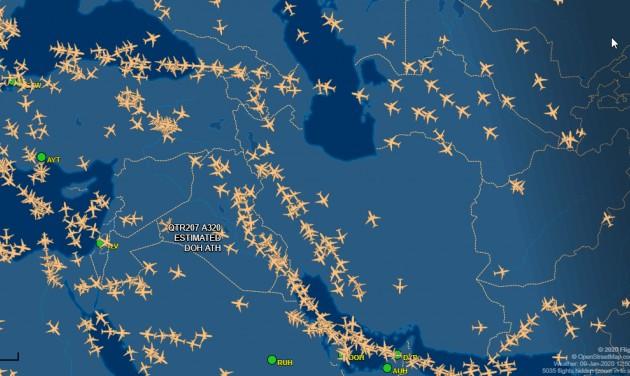 Az iraki légtér elkerülését javasolják