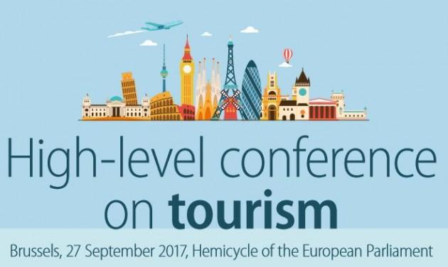 Magas szintű konferencia a turizmusról Brüsszelben