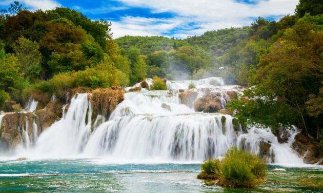 Népszerű horvát nemzeti parkok nyitnak ki hétfőn