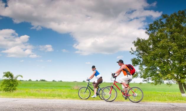 Kerékpárutak épültek Sármelléken és Zalaszentgróton