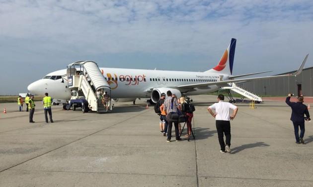ETI: az év első chartere elindult Debrecenből Hurghadára