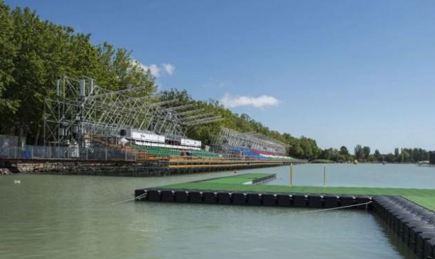 Tartós fejlesztéseket hozott Balatonfürednek a vizes vb