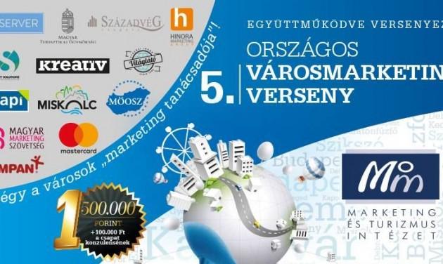 Kreatív megoldásokat keres az 5. Országos Városmarketing Verseny