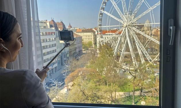 Online tartanak házbejárásokat a budapesti Kempinskiben