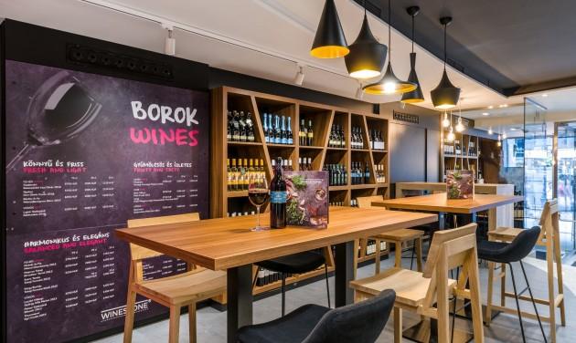 Megnyílt Magyarország első WineStone étterme