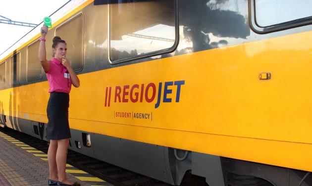 Újraindul a Regiojet Prága-Bécs-Budapest-járata