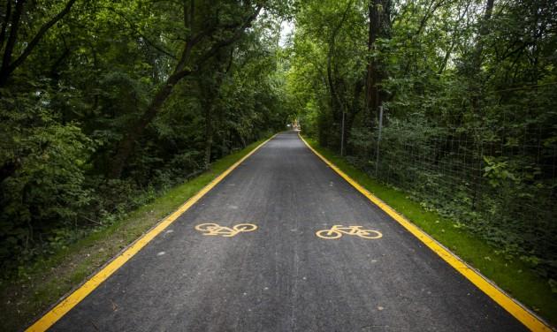 Nyár végére elkészül a Budapest–Szentendre kerékpárút