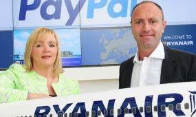 PayPalon keresztül is vehetünk már Ryanair-jegyet