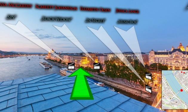 Virtuális barangolás Budapest filmes helyszínein