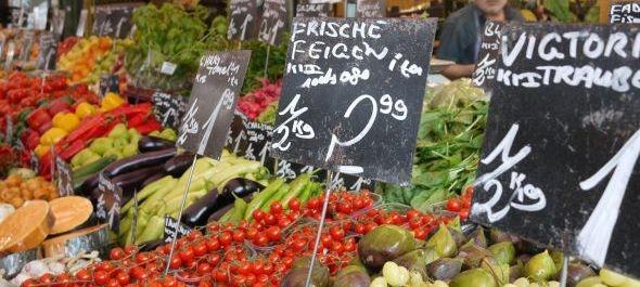 Fejlesztések a Naschmarkton: biosarok, textilszatyor és piac-alkalmazás