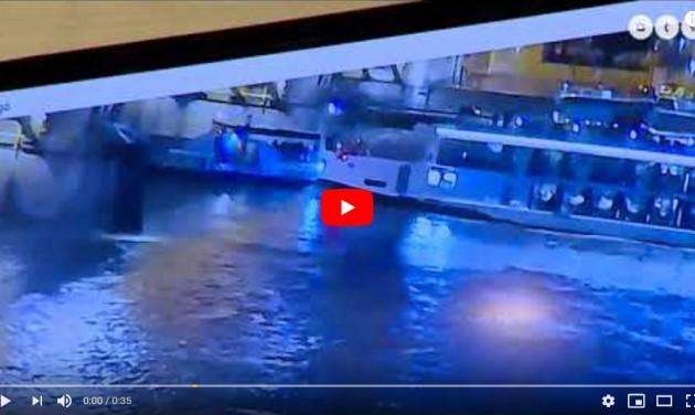 Drámai VIDEÓ a dunai hajóbalesetről