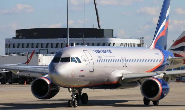 Napi négy Aeroflot-járat