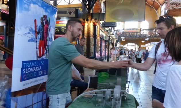 Szlovák ízek és úti célok a Nagycsarnokban