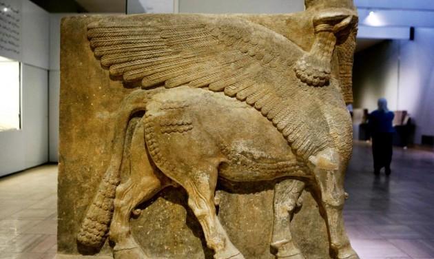 Ókori műtárgyakat állít ki Irak Velencében