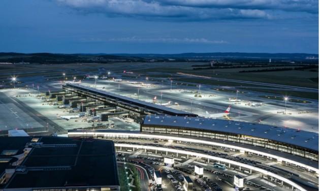 Jelentősen nőtt a bécsi repülőtér forgalma
