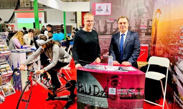 Giro: Hatalmas érdeklődés Milánóban a budapesti Nagy Rajt kapcsán