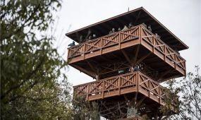 Átadták a tihanyi Őrtorony Kilátót