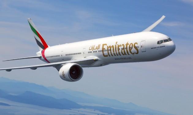 Heti háromszor repül Budapestre az Emirates