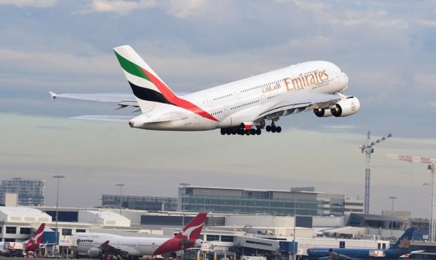 Járatot csökkent az Emirates