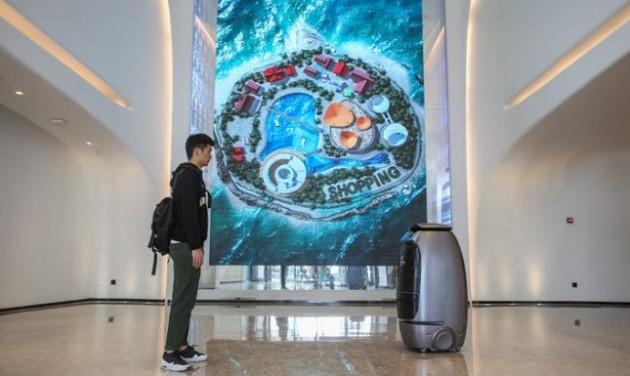 Robotok az Alibaba szállodájában