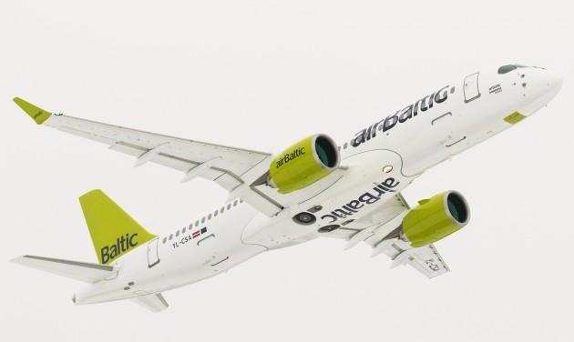 Tovább növekszik az AirBaltic