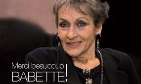 Merci Babette!