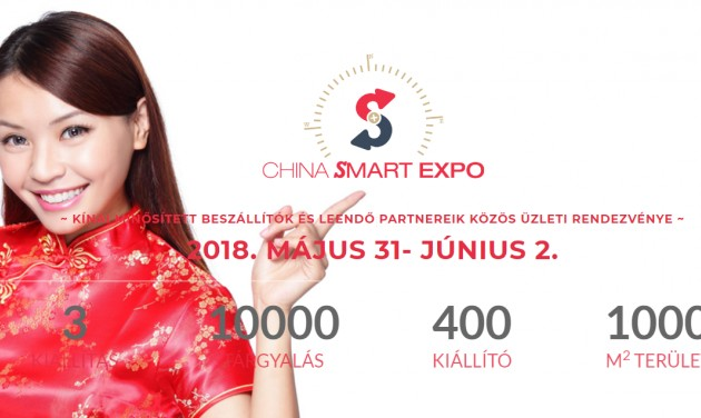 China Smart Expo – kiállítás, vásár és konferencia Budapesten