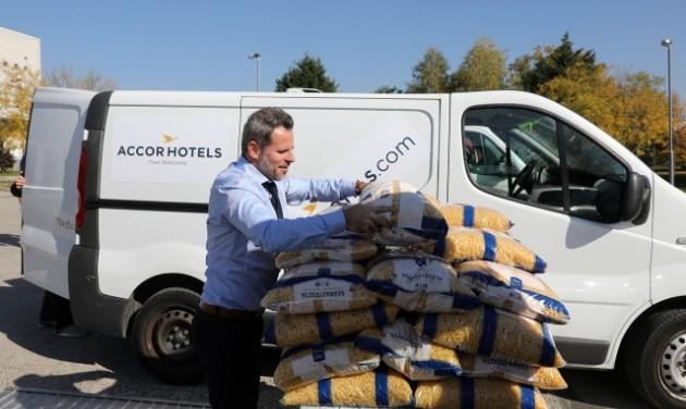 Az AccorHotels az élelmiszerpazarlás ellen