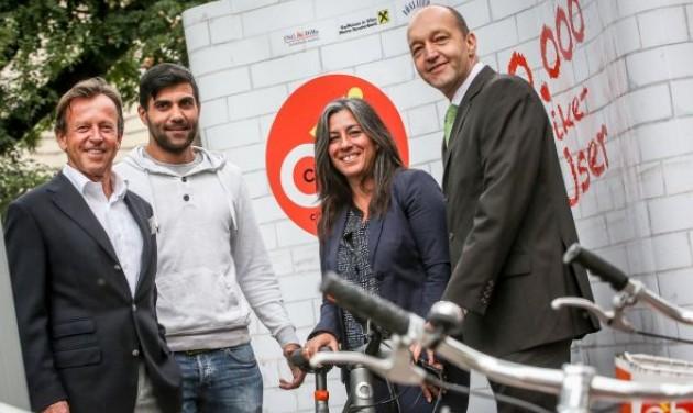 Elérte a félmillió felhasználót a bécsi Citybike