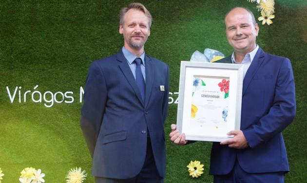 Újabb két régióban hirdették ki a Virágos Magyarország győzteseit