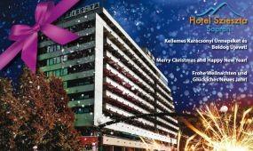 Kellemes ünnepeket kíván a Hotel Szieszta!