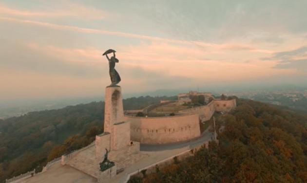 Lenyűgöző drónfelvételek a megújulás előtt álló Citadelláról