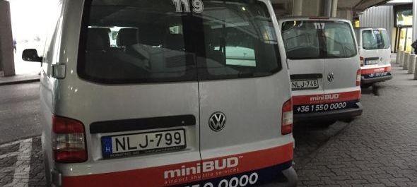 Elindult az új minibusz-szolgáltatás a repülőtéren
