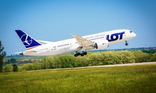 Varsó és Washington között indít járatot a LOT