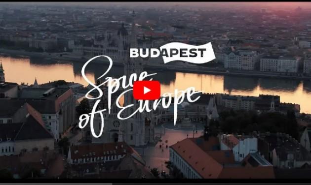 Itt a negyedik Spice of Europe-kampányfilm Budapestről