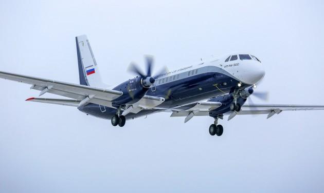 Végrehajtotta szűzrepülését az orosz Il-114-300-as utasszállító
