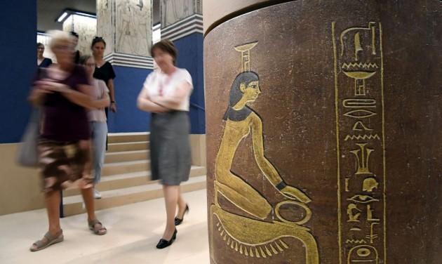 A tökéletes fáraót és korát bemutató kiállítás nyílt a Szépművészeti Múzeumban