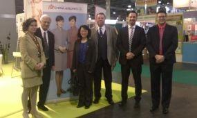 China Airlines képviselők Budapesten