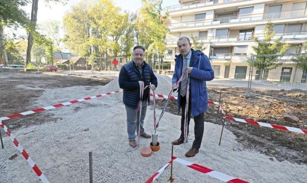 Májusra elkészül a kerékpáros központ Balatonfüreden