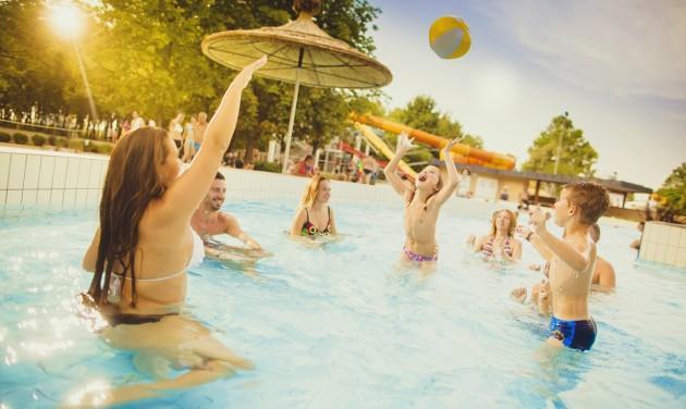 Családi attrakciók egész nyáron Bükfürdőn!