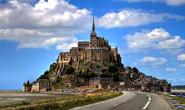 Ismét látogatható a Mont Saint-Michel-i apátság kerengője