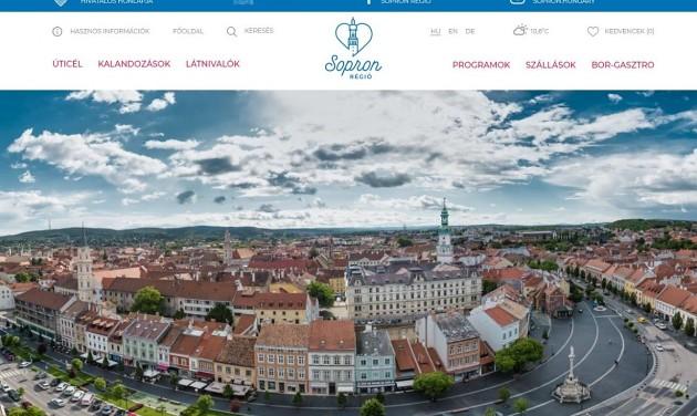 Megújult a Sopron Régió weboldala
