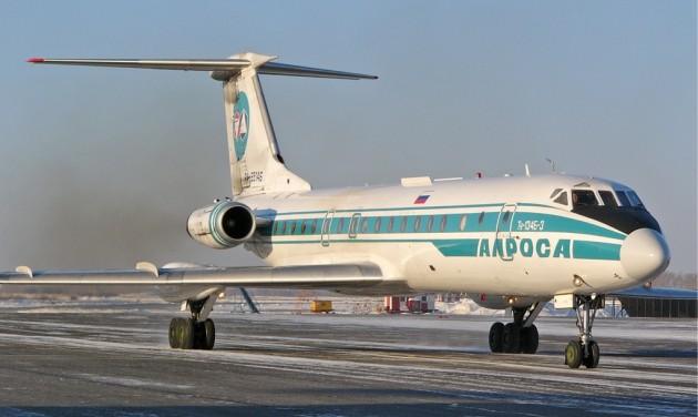 Utolsó útjára repült a Tu-134-es Oroszországban
