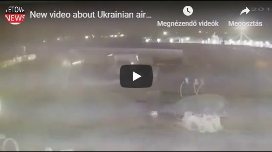 Két rakétát lőtt ki az ukrán repülőgépre Irán egy videó szerint