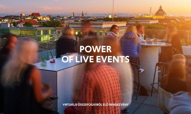 A Budapest Convention Bureau a #PowerOfLiveEvents támogatói között