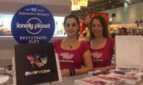 Debrecen ismét bemutatkozott a londoni WTM-en