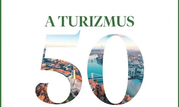 A turizmus TOP 50 szakembere – hetedszer