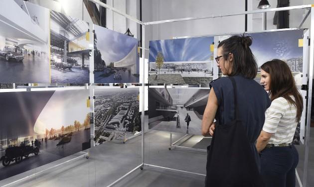 Kiállították a Közlekedési Múzeum új épületének látványterveit