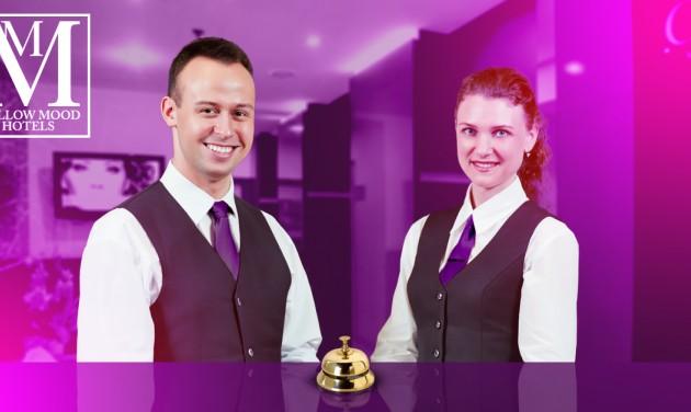 Szállodai recepciós, MMG Hotels, Budapest